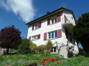 Einfamilienhaus-schöner Garten-himmel-nwb immobilien